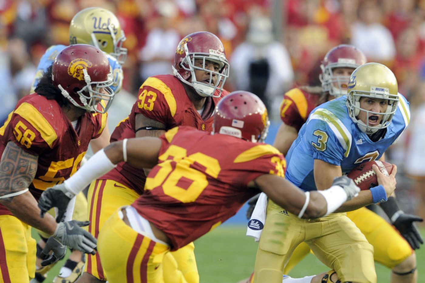 Southern Cal blows past UCLA