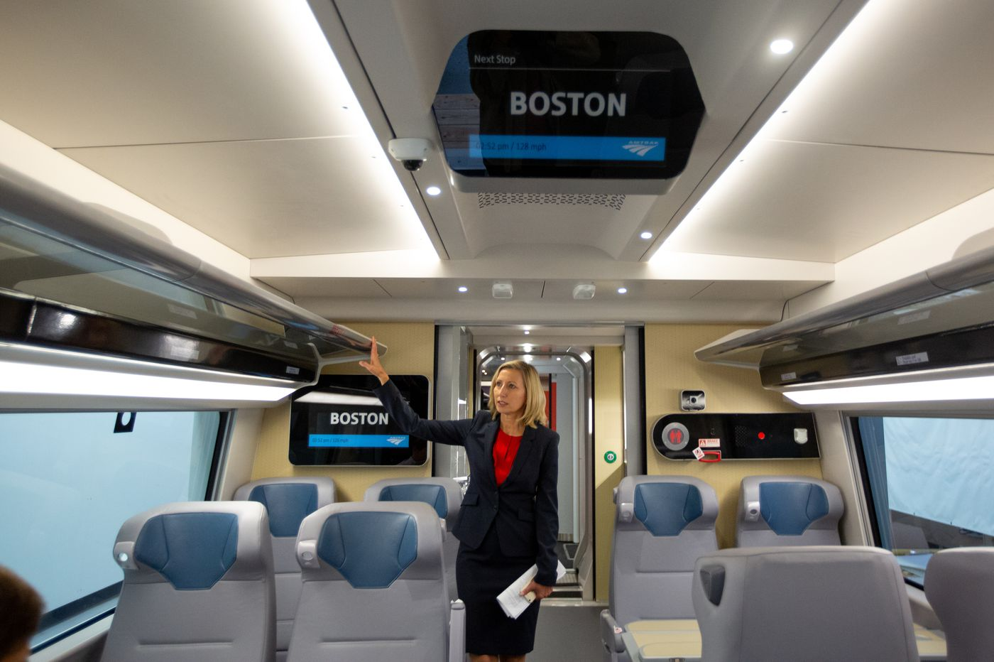 Take a peek at Amtrak's posh new Acela cars
