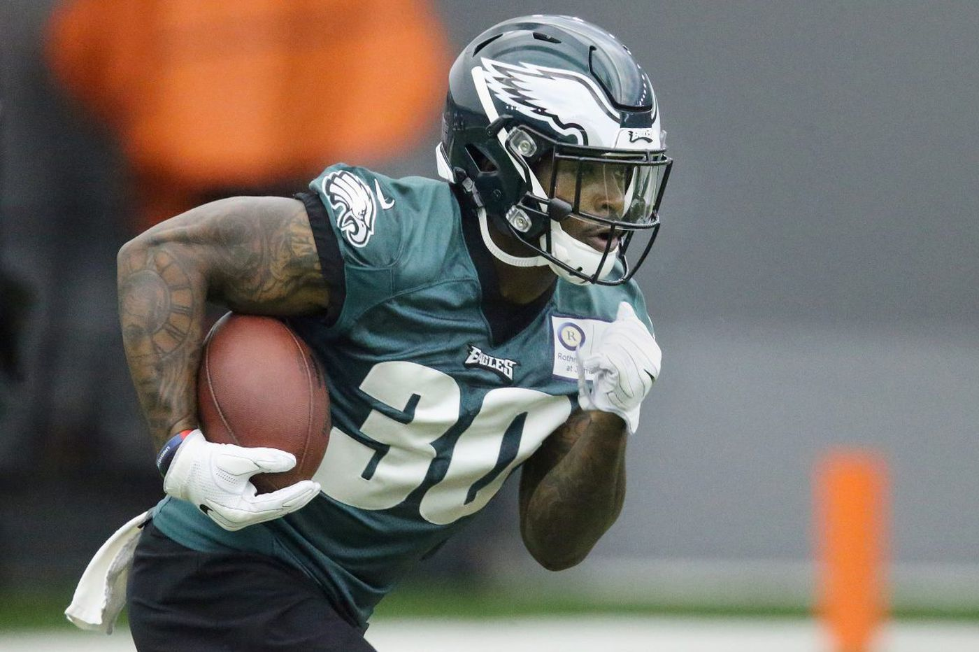Corey Clement, one year after his meteoric rise, is ready to grow his role with Eagles