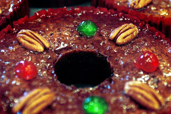 Jim Coleman: Yes, Marie, there is a good fruitcake, and you can make it yourself