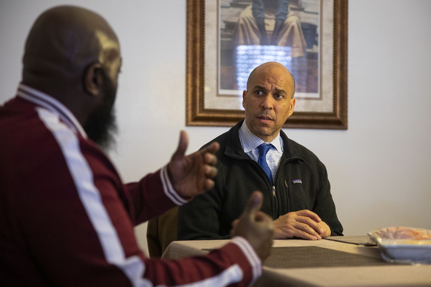 'I owe a debt'; Cory Booker, the son of civil rights activists, is leading the push for police reform