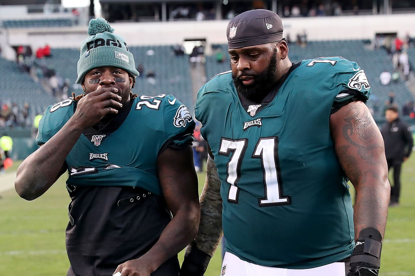 Eagles legend Jason Peters offers to replace Lane Johnson at right tackle   Marcus Hayes