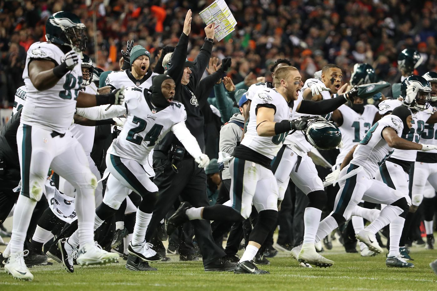 Eagles-Bears: What we learned from the thrilling win