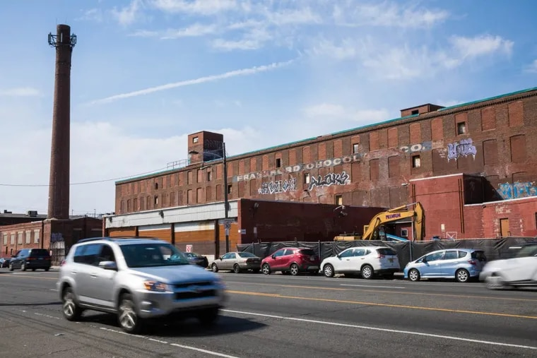 Developer Ori Feibush has acquired the former Frankford Chocolate Factory at 2101 Washington Ave. in South Philadelphia and has plans to demolish most of the property to make room for new apartments, townhomes and stores.