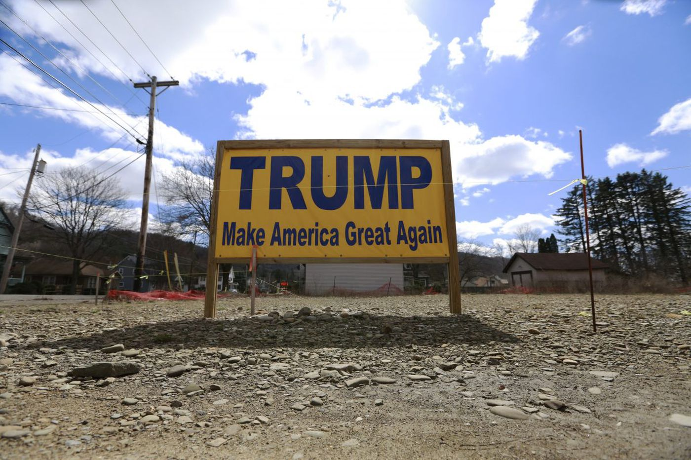 Support for Trump slipping in rural America?