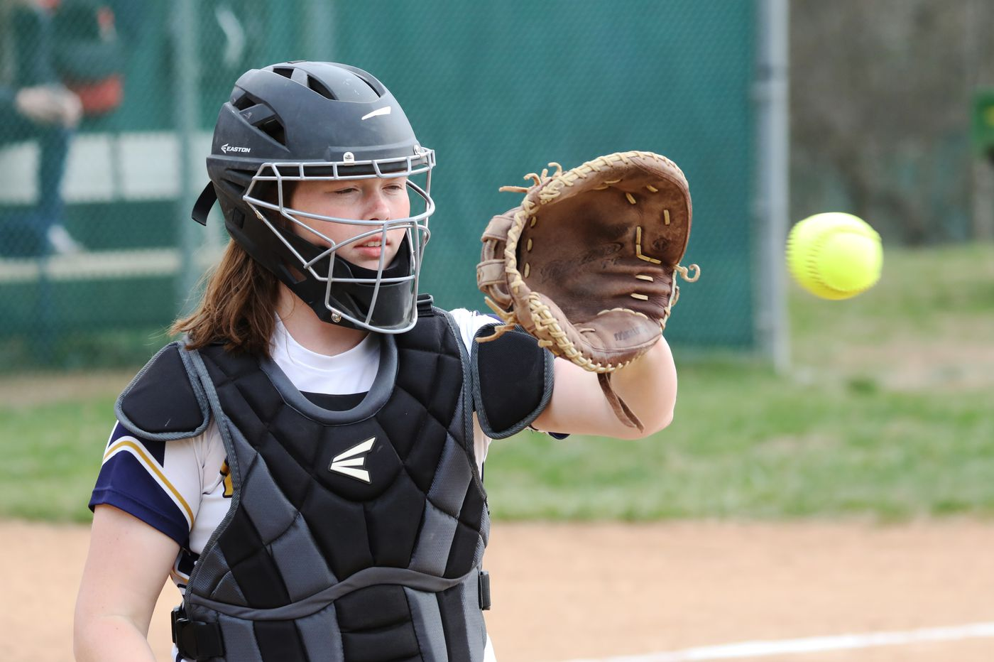 Woodbury catcher Nora Campo is all about the big effort