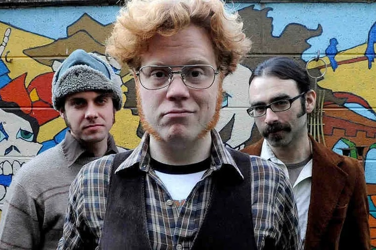 """Hoots and Hellmouth - featuring (from left) Andrew """"Hellmouth"""" Gray, Sean Hoots, and Rob Berliner - will perform Friday at the Note in West Chester."""