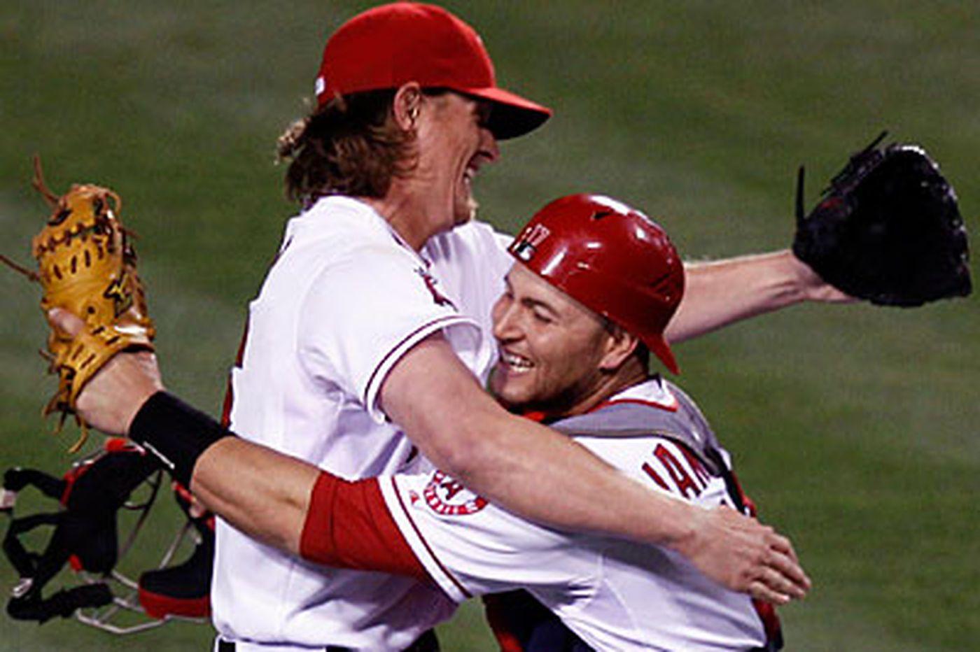 Weaver's no-hitter a family affair