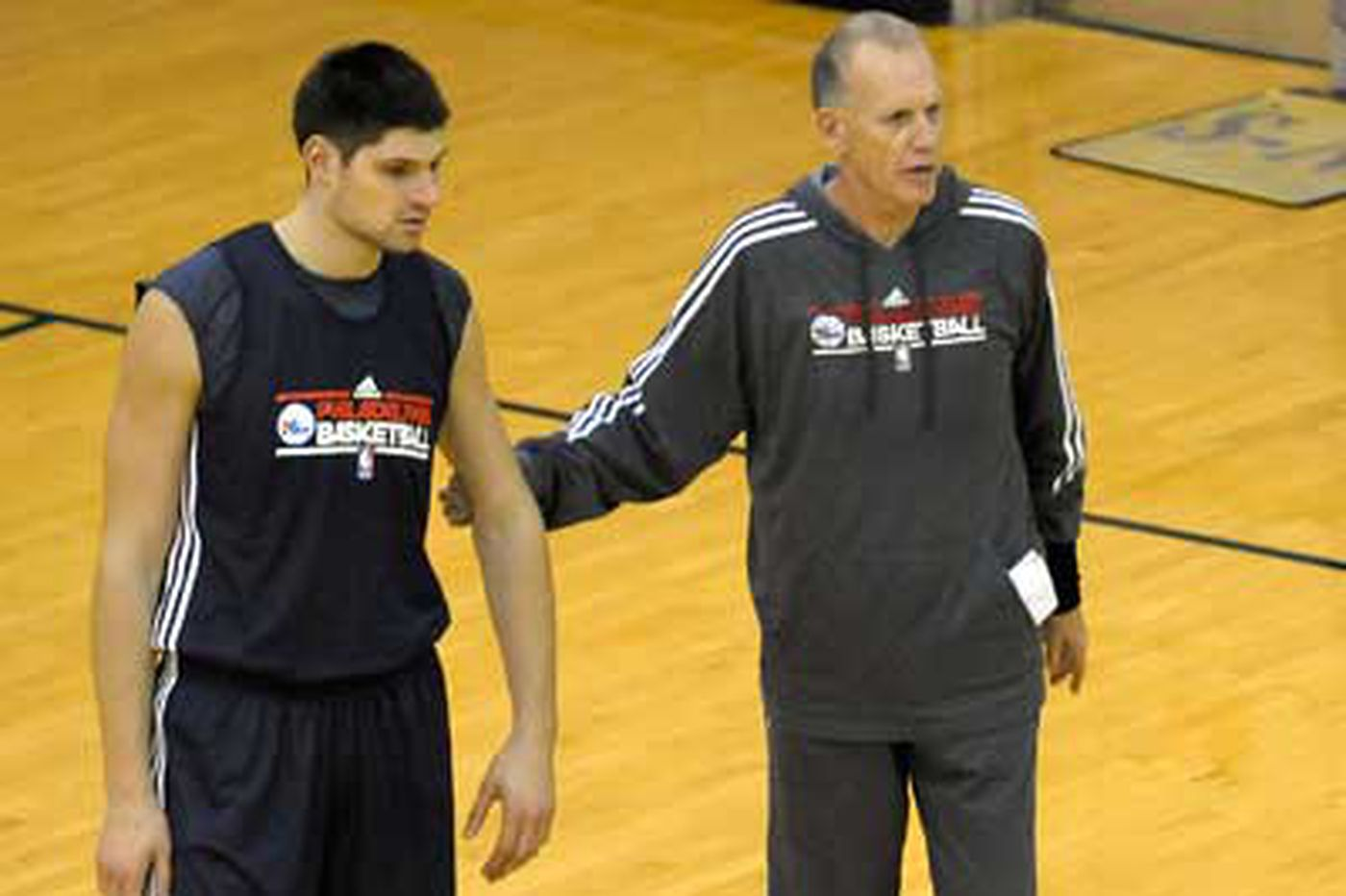Vucevic staying afloat in Sixers system