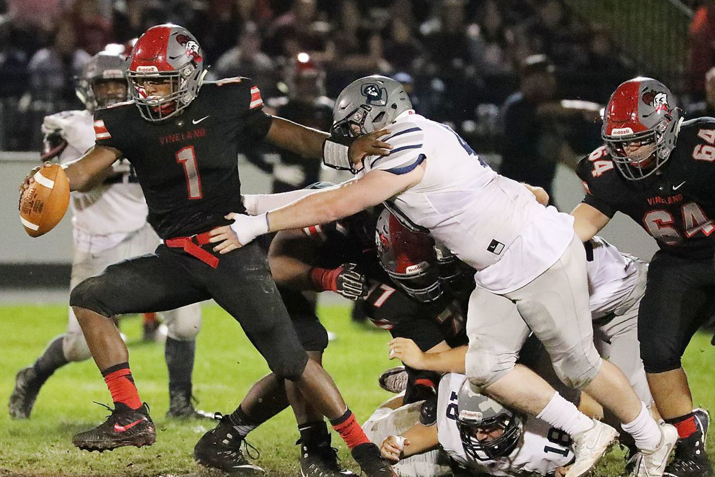 Vineland's Isaih Pacheco and Nihym Anderson head to Big Ten football teams