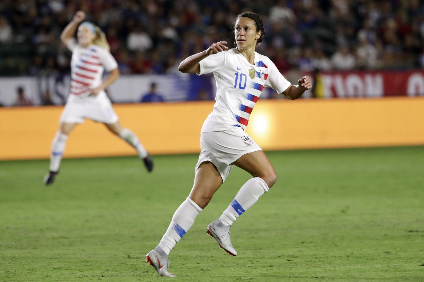 9fc99b7b14d Carli Lloyd hat trick helps U.S. women's national team rout Panama 5-0 in  World Cup qualifying