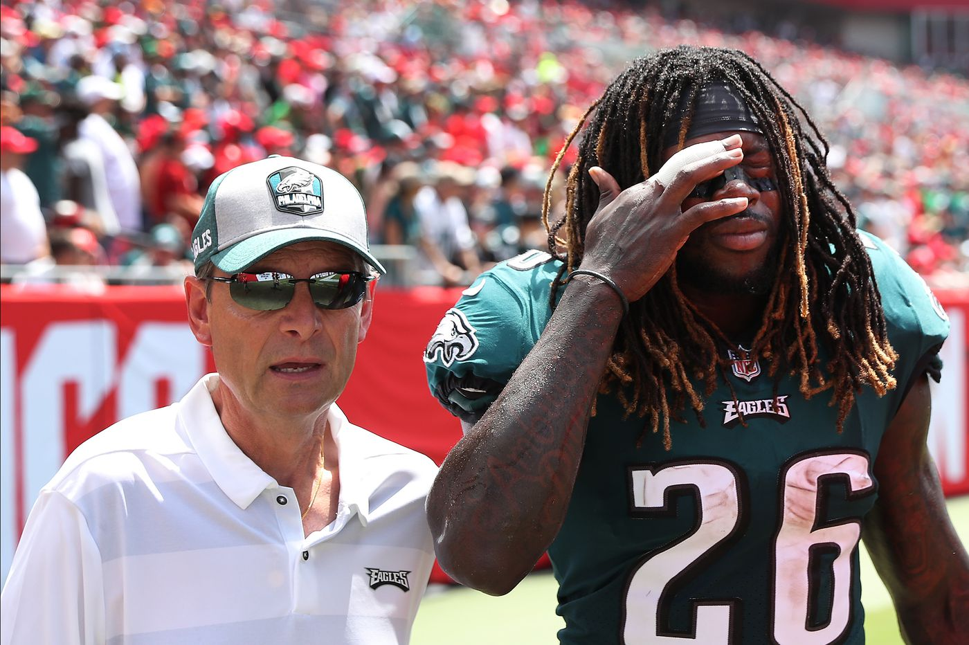 A bad start to the Eagles' week gets worse with Jay Ajayi's injury   Early Birds