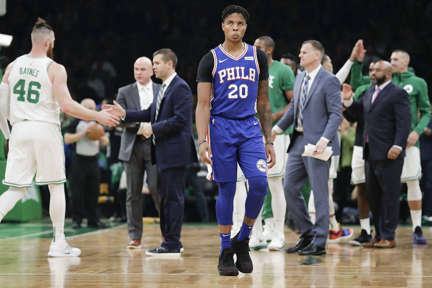 Markelle Fultz is looking for a place to hide, Sixers should hide him on the bench | Marcus Hayes