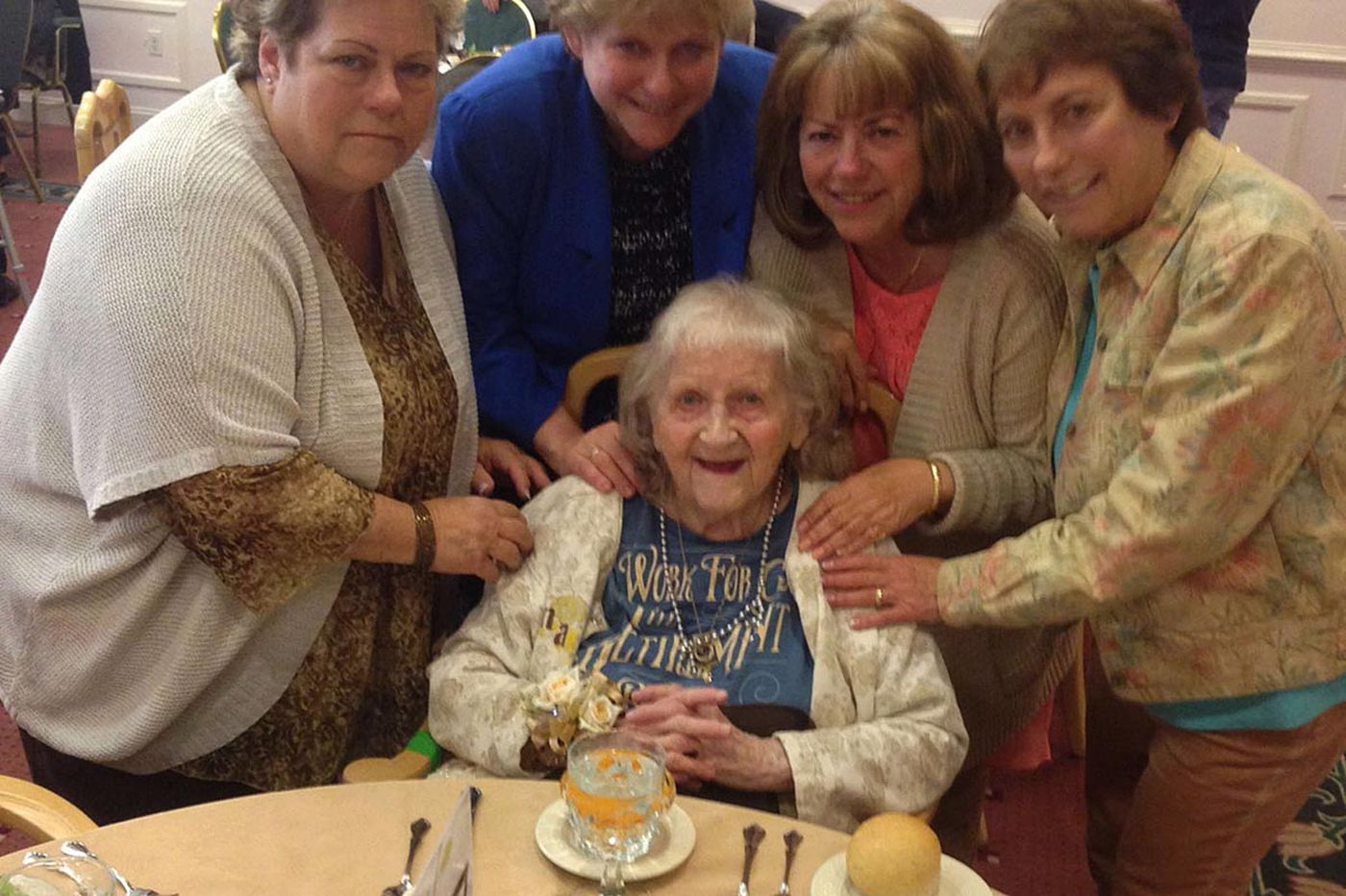 Centenarians say friends are key to growing old