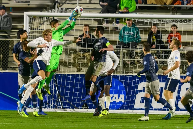 Georgetown won this year's NCAA Division I men's soccer championship, led by Cherry Hill-born goalkeeper Tomas Romero.