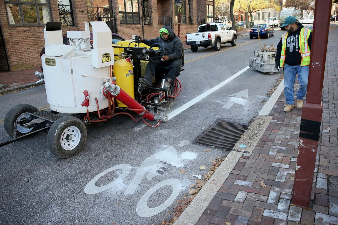 Philadelphia looks to flip bike lanes where fatal accident occurred
