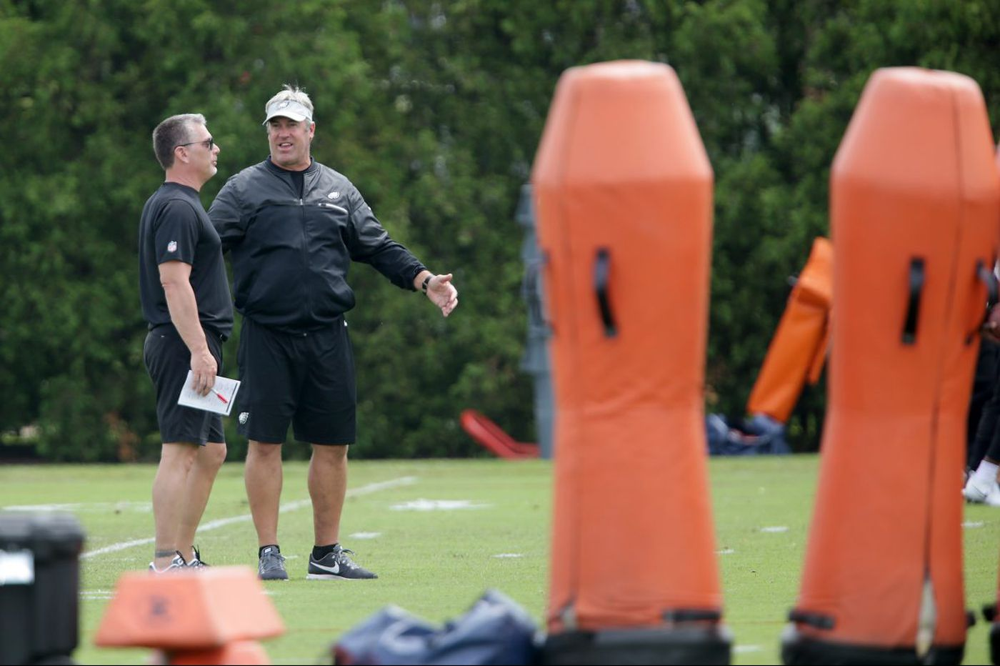 Eagles chat replay: Zach Berman talks newcomers and more
