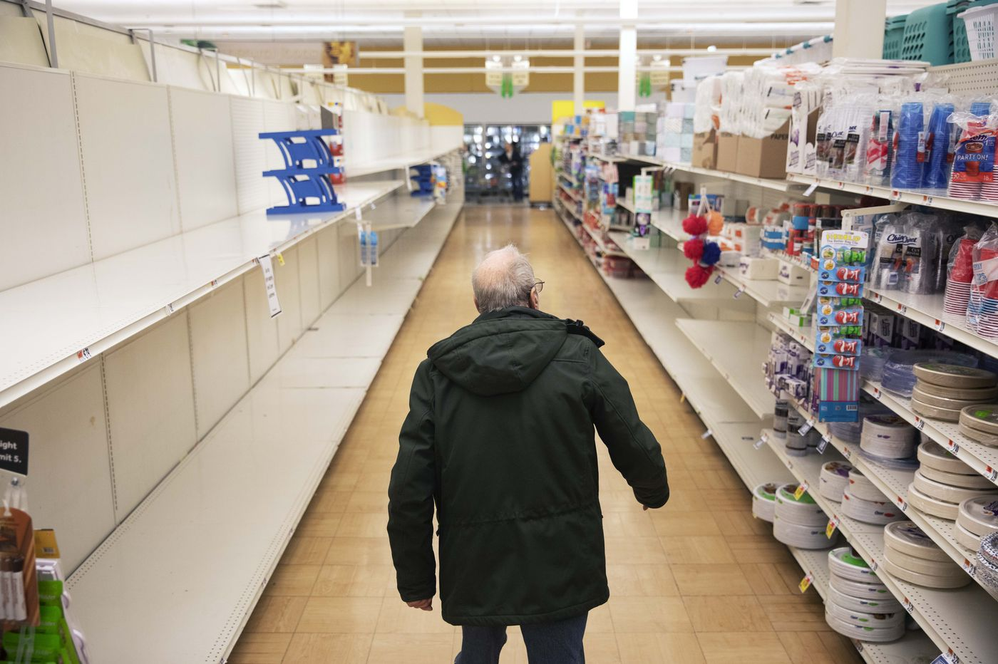 How grocery shipping amid coronavirus was snarled by America's high-tech delivery networks, weak national response