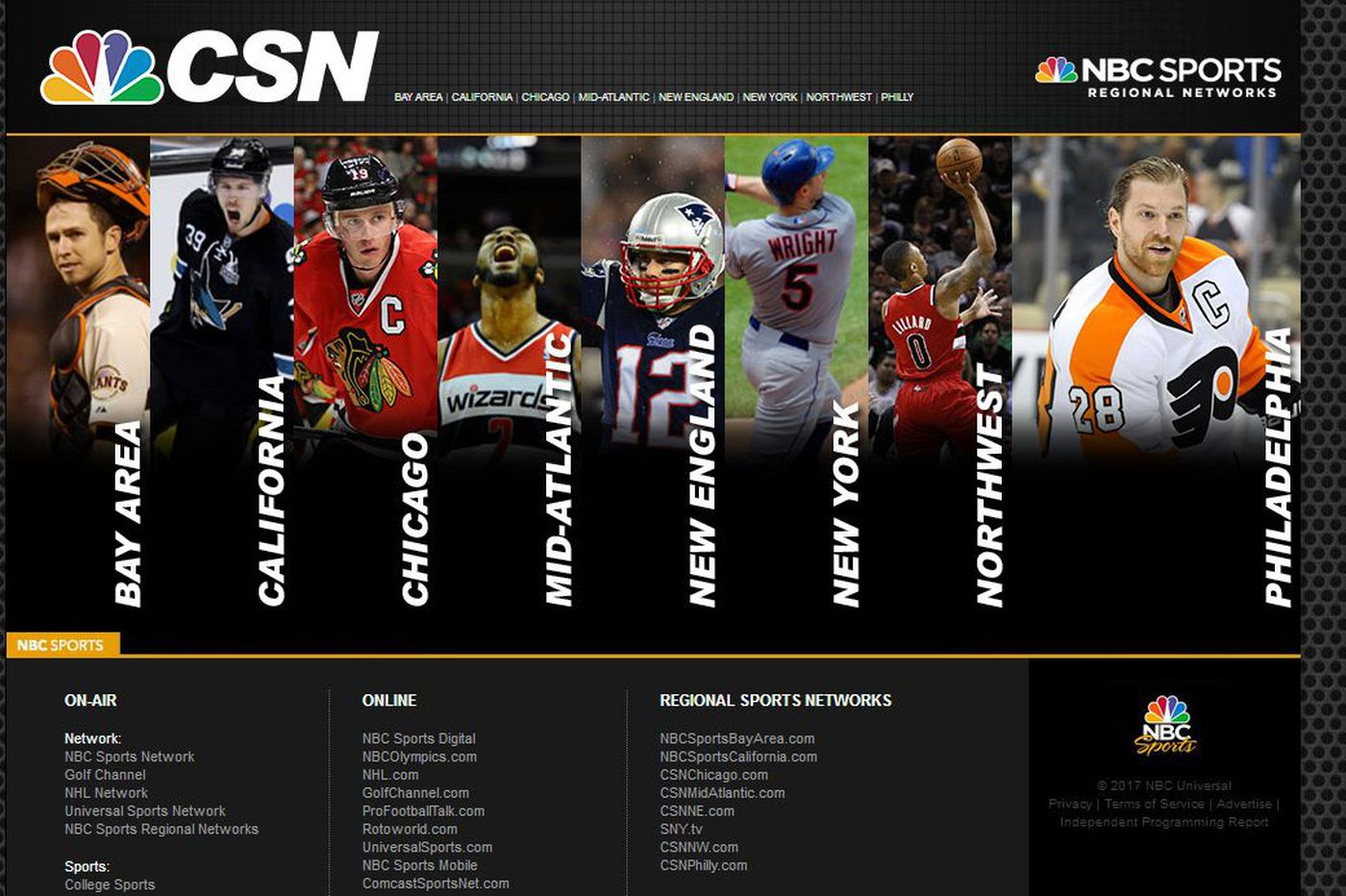 CSN Philadelphia brand deep-sixed, network name officially changes to NBC