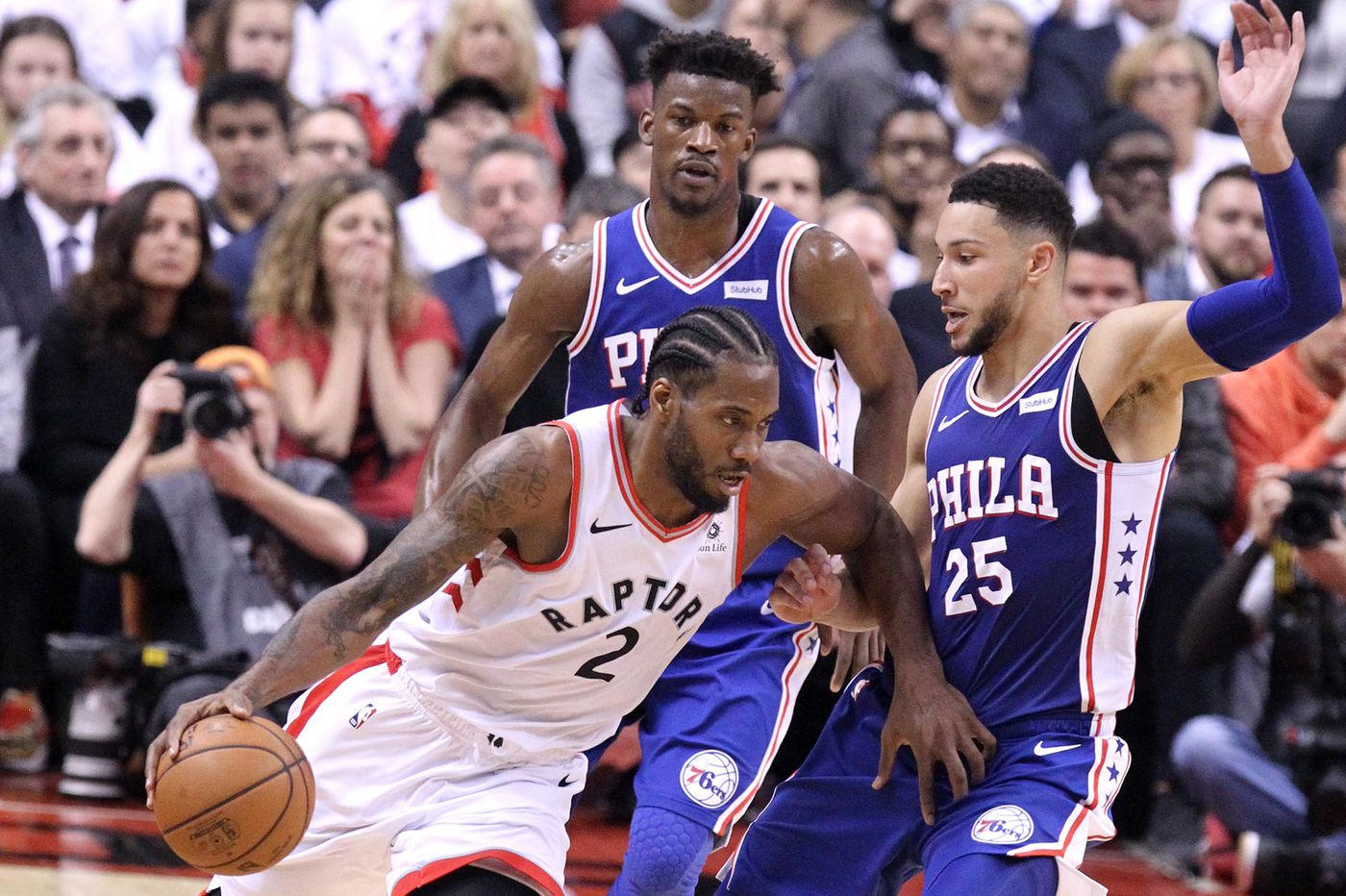 Sixers-Raptors playoff chess match continues as series moves to Philadelphia