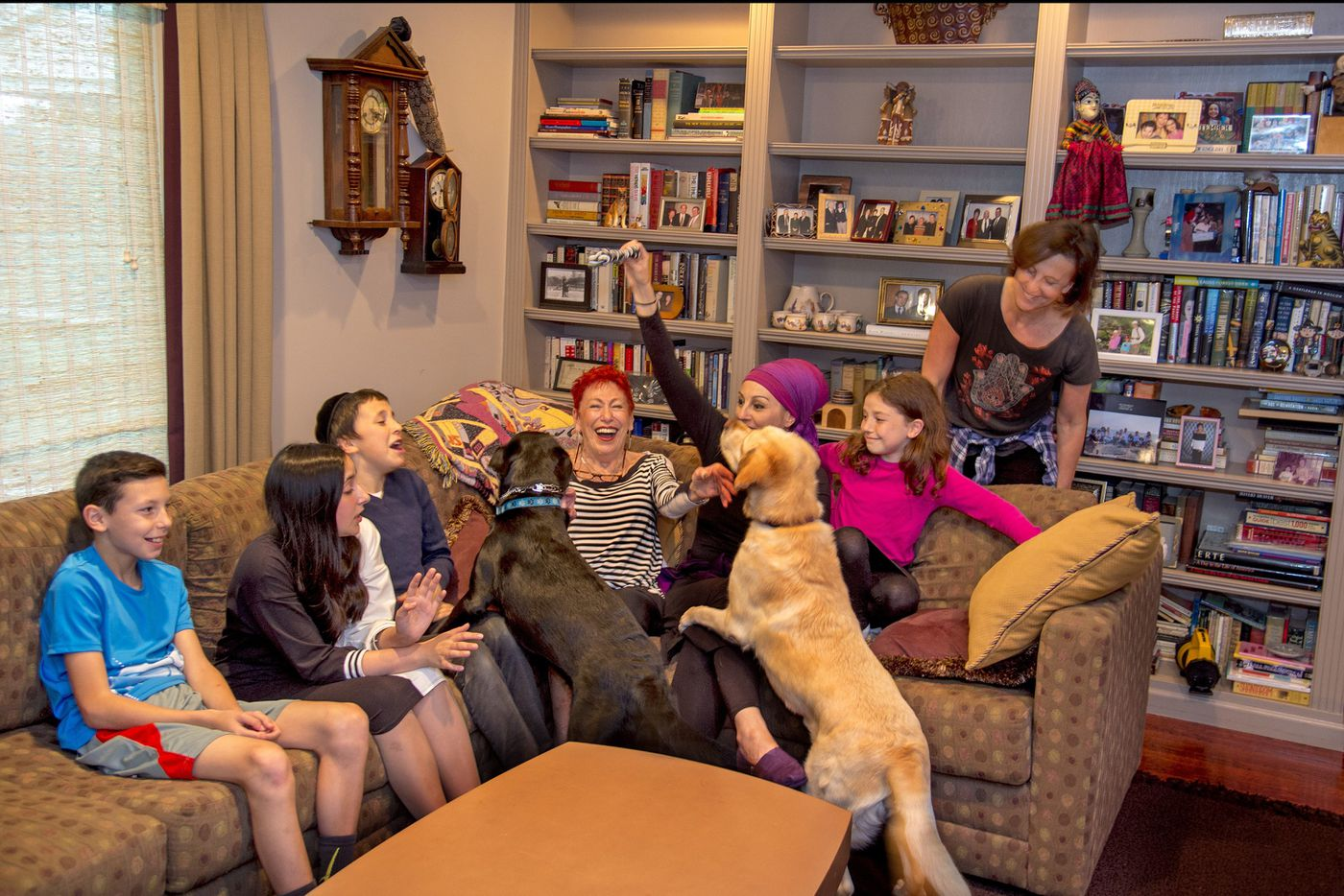 Family home in Cherry Hill becomes a gathering place for the next generation