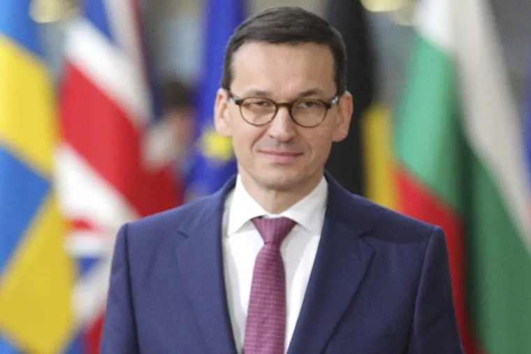 Polish Prime Minister Mateusz Morawiecki says his government will not budge in response to the European Union.