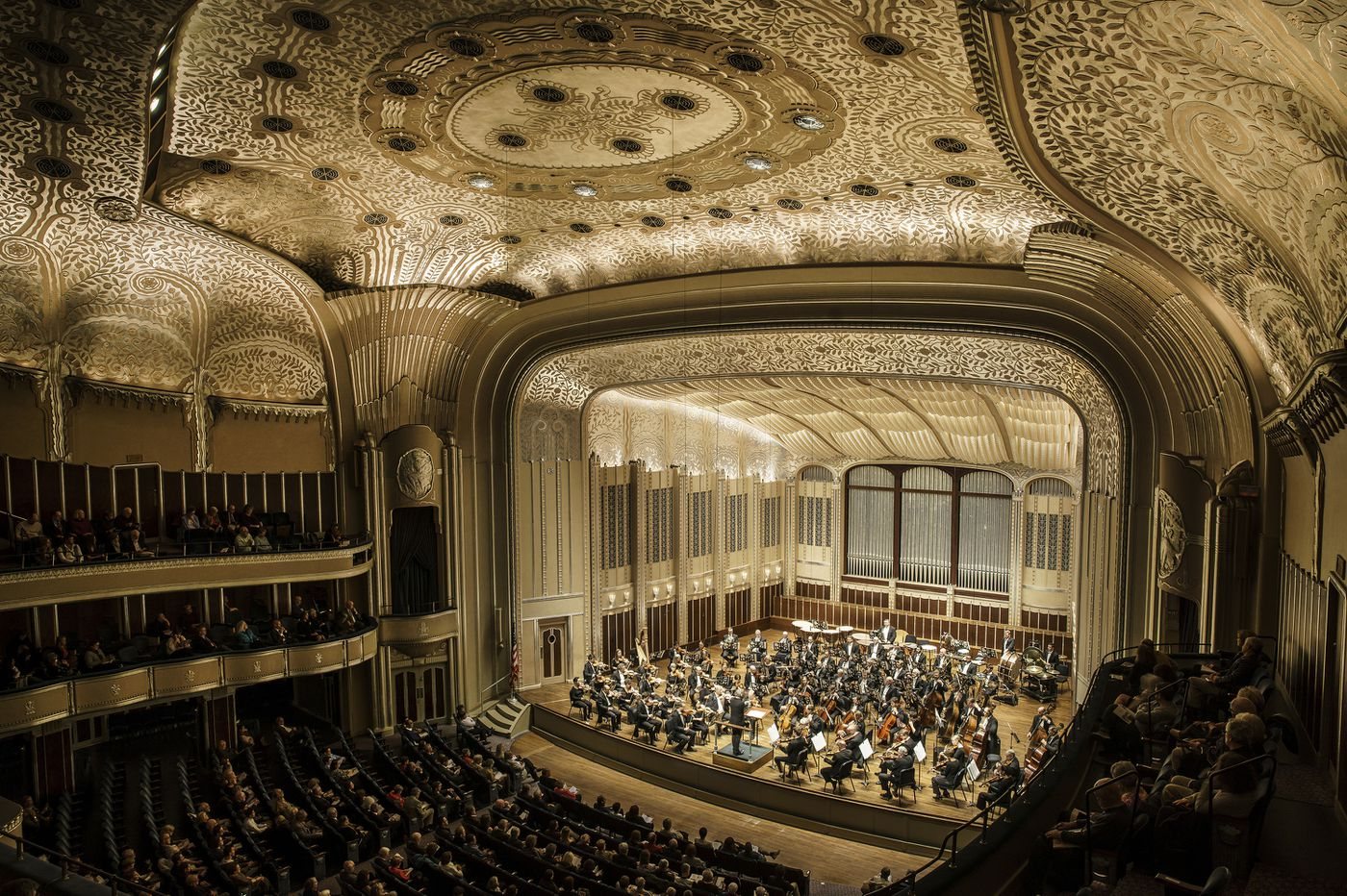 In this Cleveland hall, classical music is king (and ancient Egypt meets the jazz age)