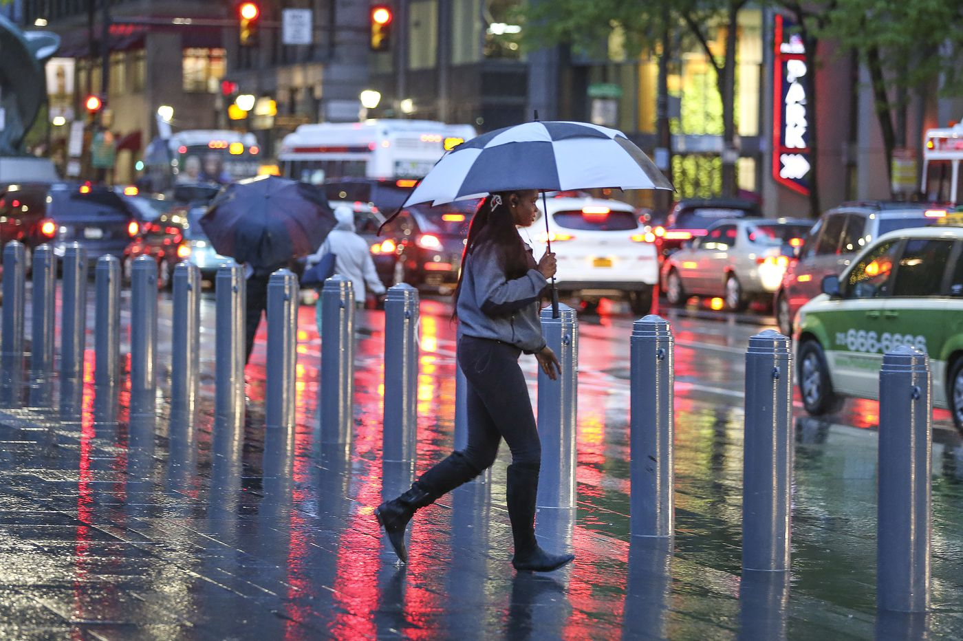 Severe storms sweep through Philly region