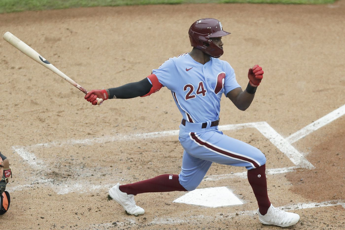 Phillies' Roman Quinn awaiting results of COVID-19 tests, placed on injured list