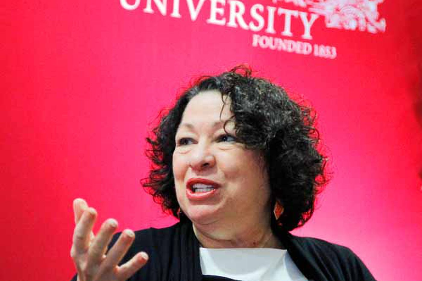 Sotomayor to Arcadia students: Take it one step at a time