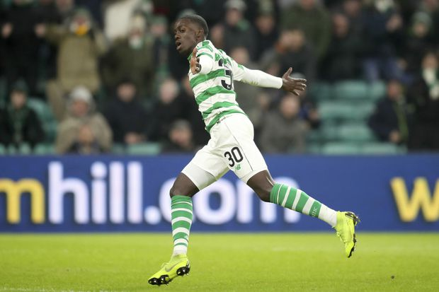 U.S. striker Tim Weah, son of George, scores on Celtic debut