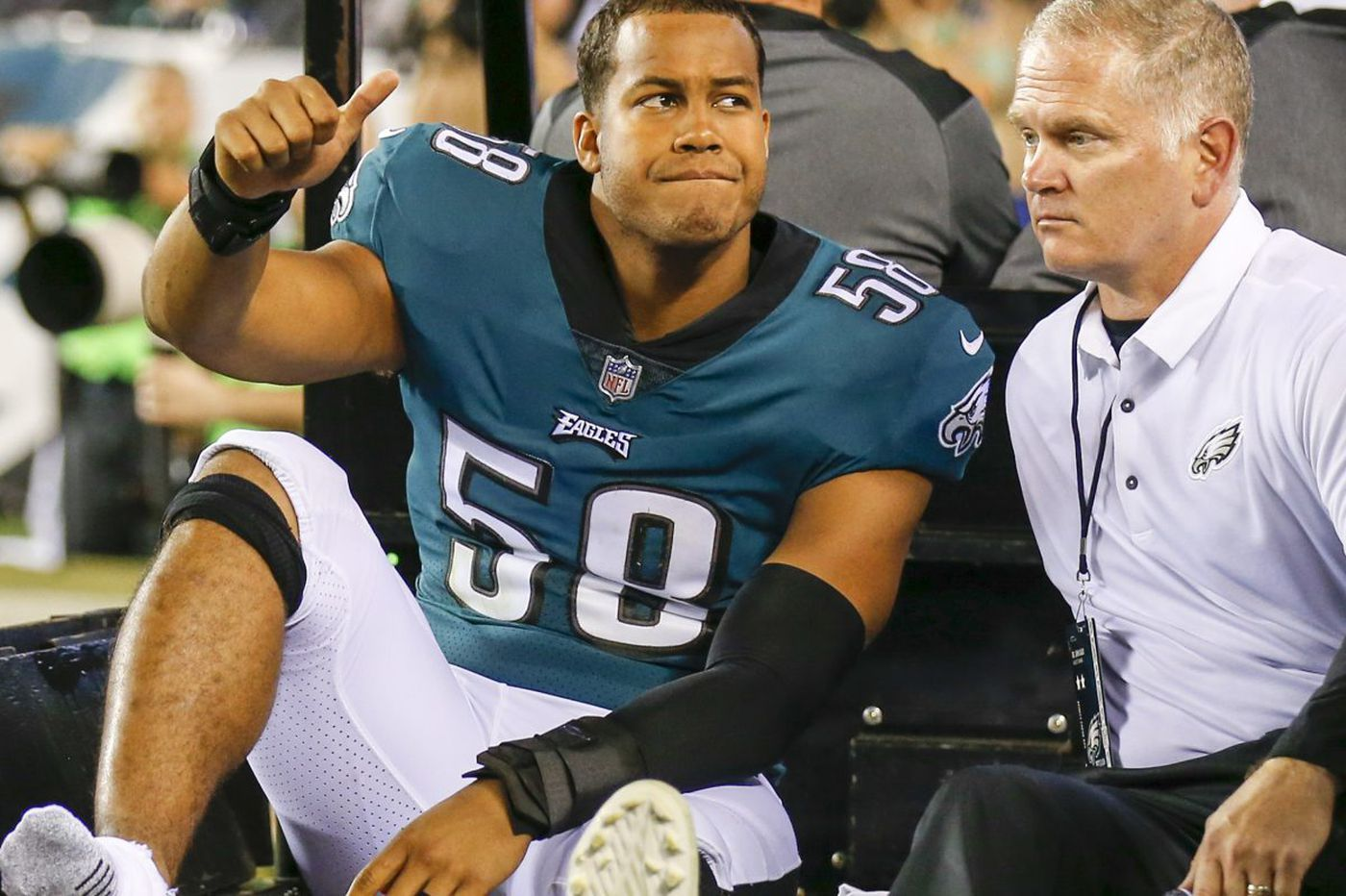 Missing Eagles' playoff run adds insult to injury for Jordan Hicks, other sidelined players