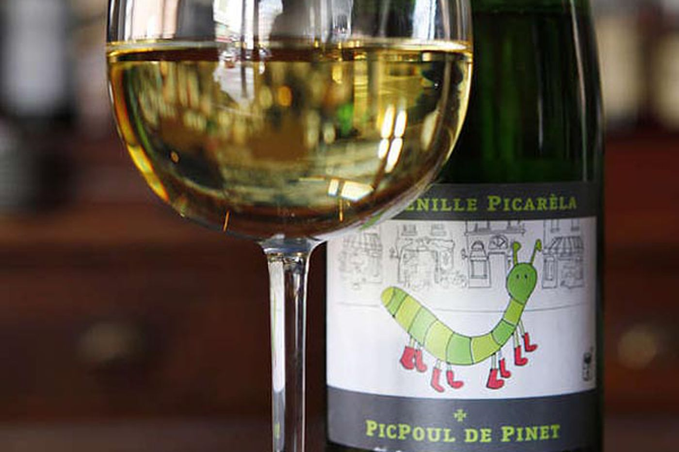 Drink: La Chenille Picarela Picpoul de Pinet