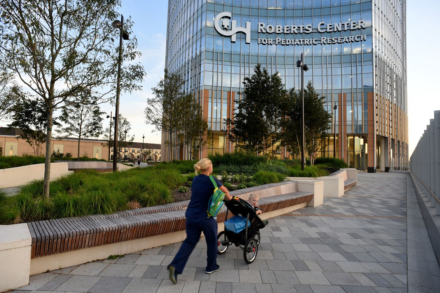 New Children's Hospital campus yearns for the big city, but
