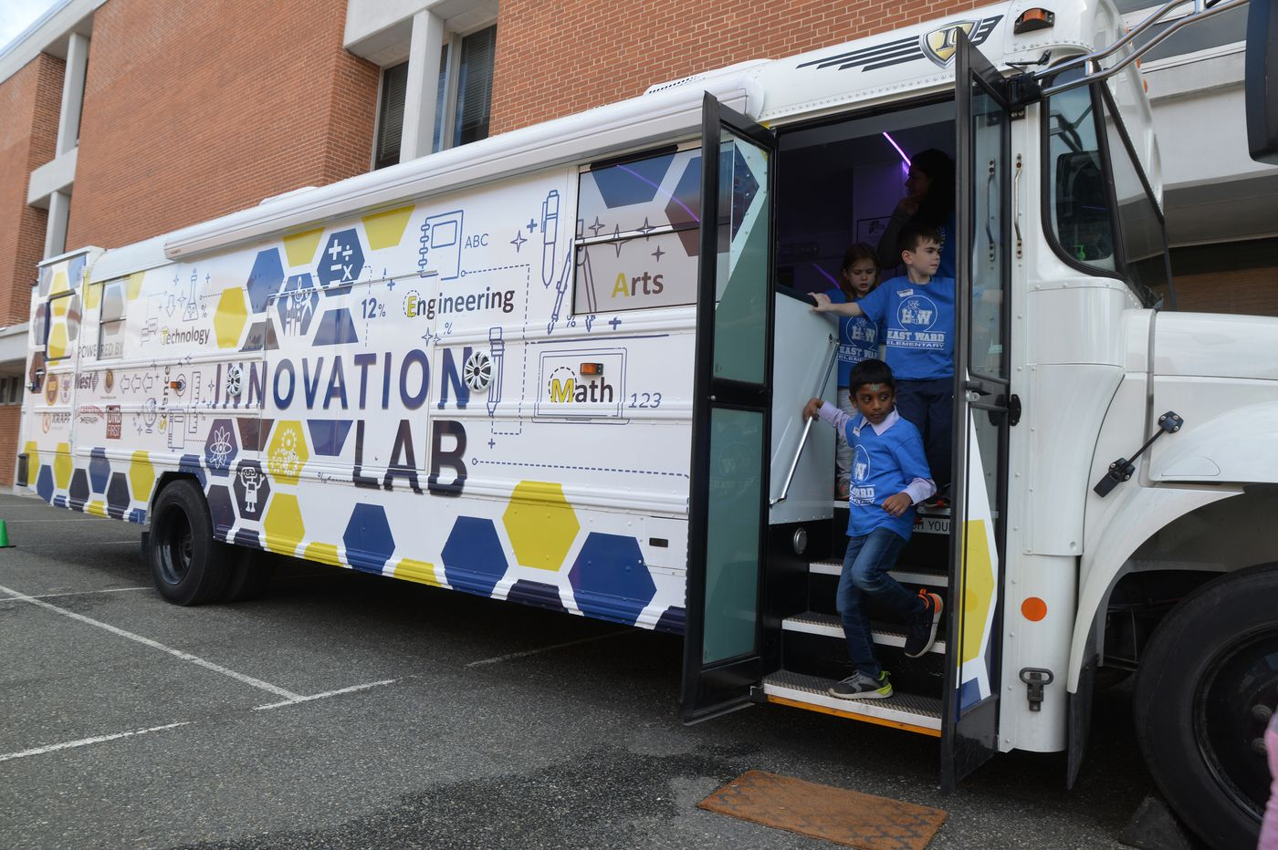 A Magic School Bus? At Downingtown they call it the Innovation Lab