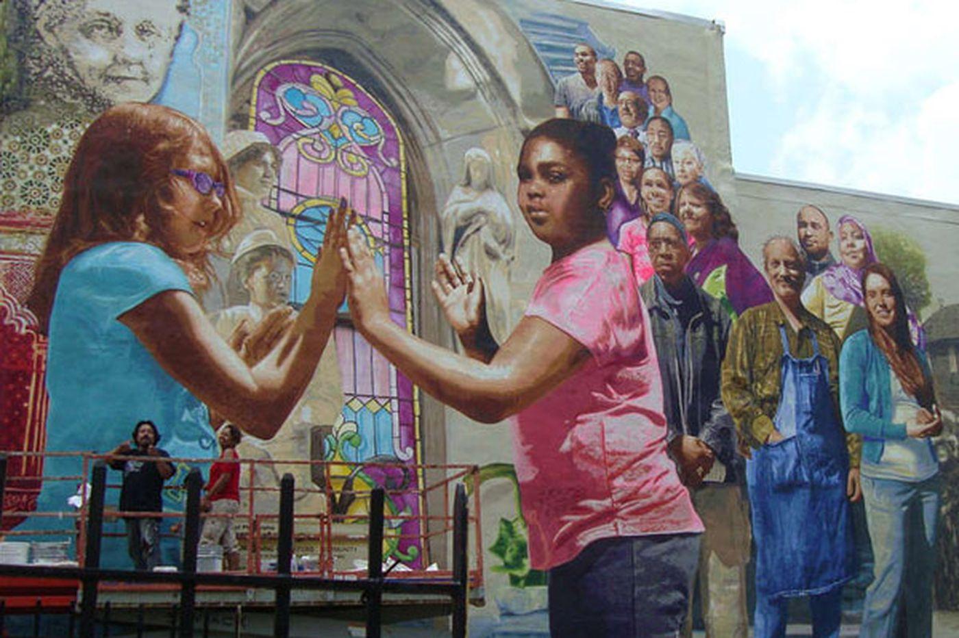 Murals exhibit new life along Frankford Avenue
