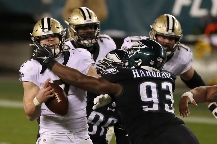 Dealing with a fair share of injuries Sunday, the Eagles put together an impressive defensive effort to pull off a 24-21 upset against the Saints in Week 14.