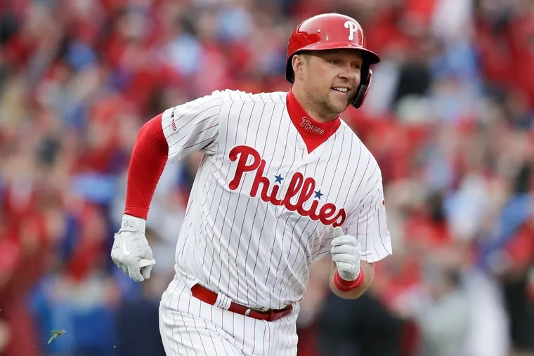 Rhys Hoskins has remained close to the MDA even after getting into the big leagues.