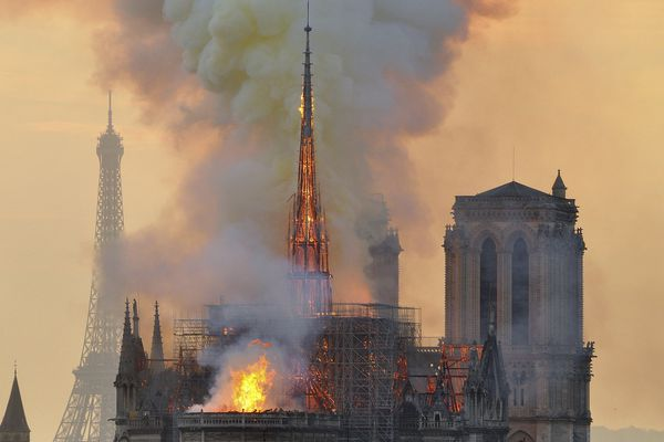 Money going to Notre Dame Cathedral, not people in poverty, is spurring anger