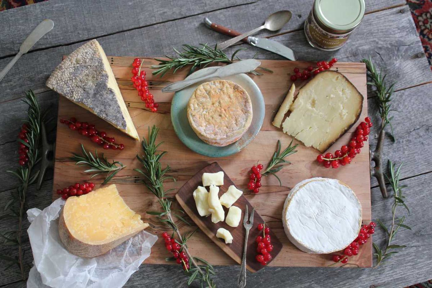 Discover these great local cheeses - or, how to bring more hunks into your life