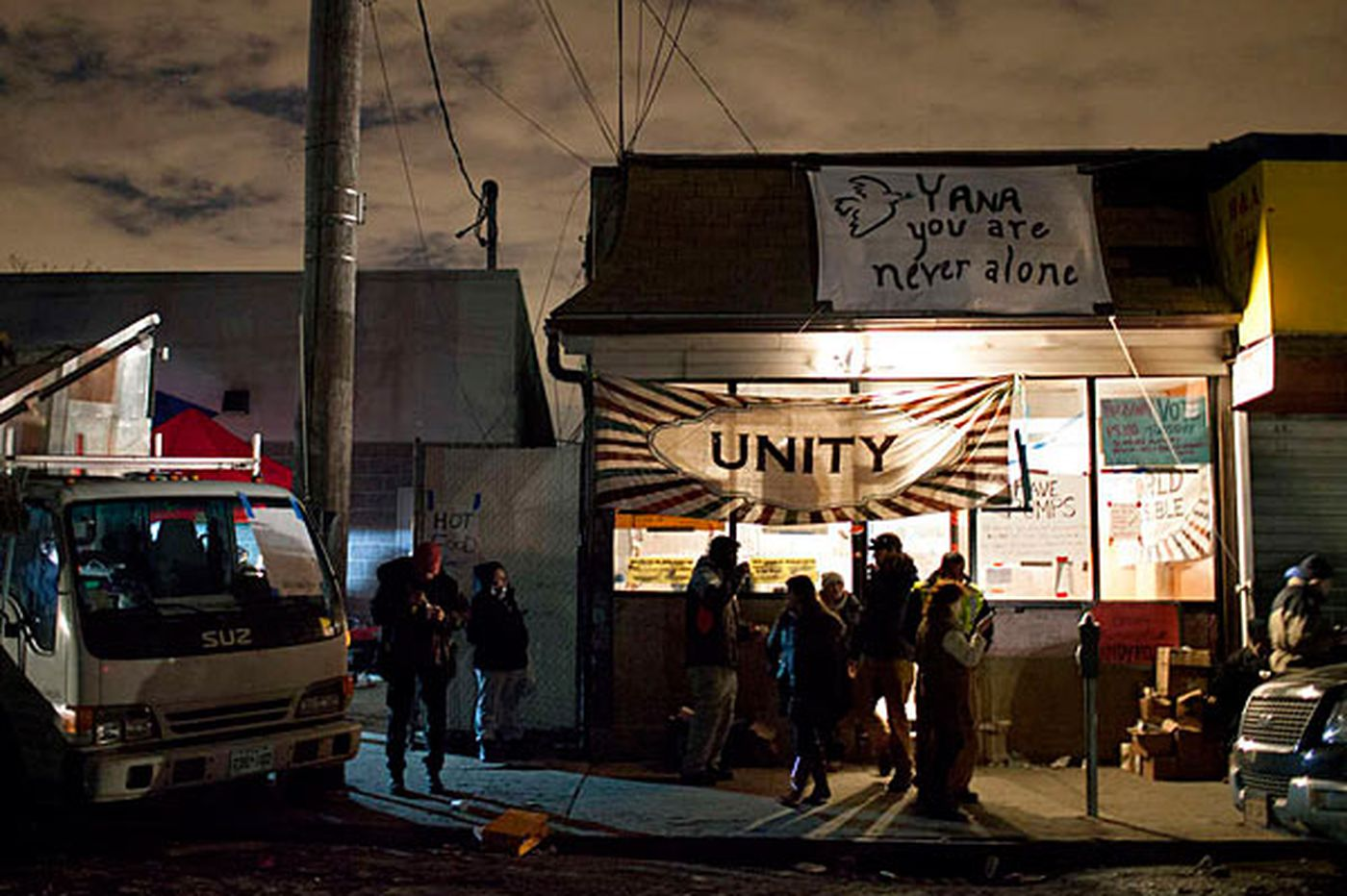 Occupy Philly turns eyes on Sandy relief