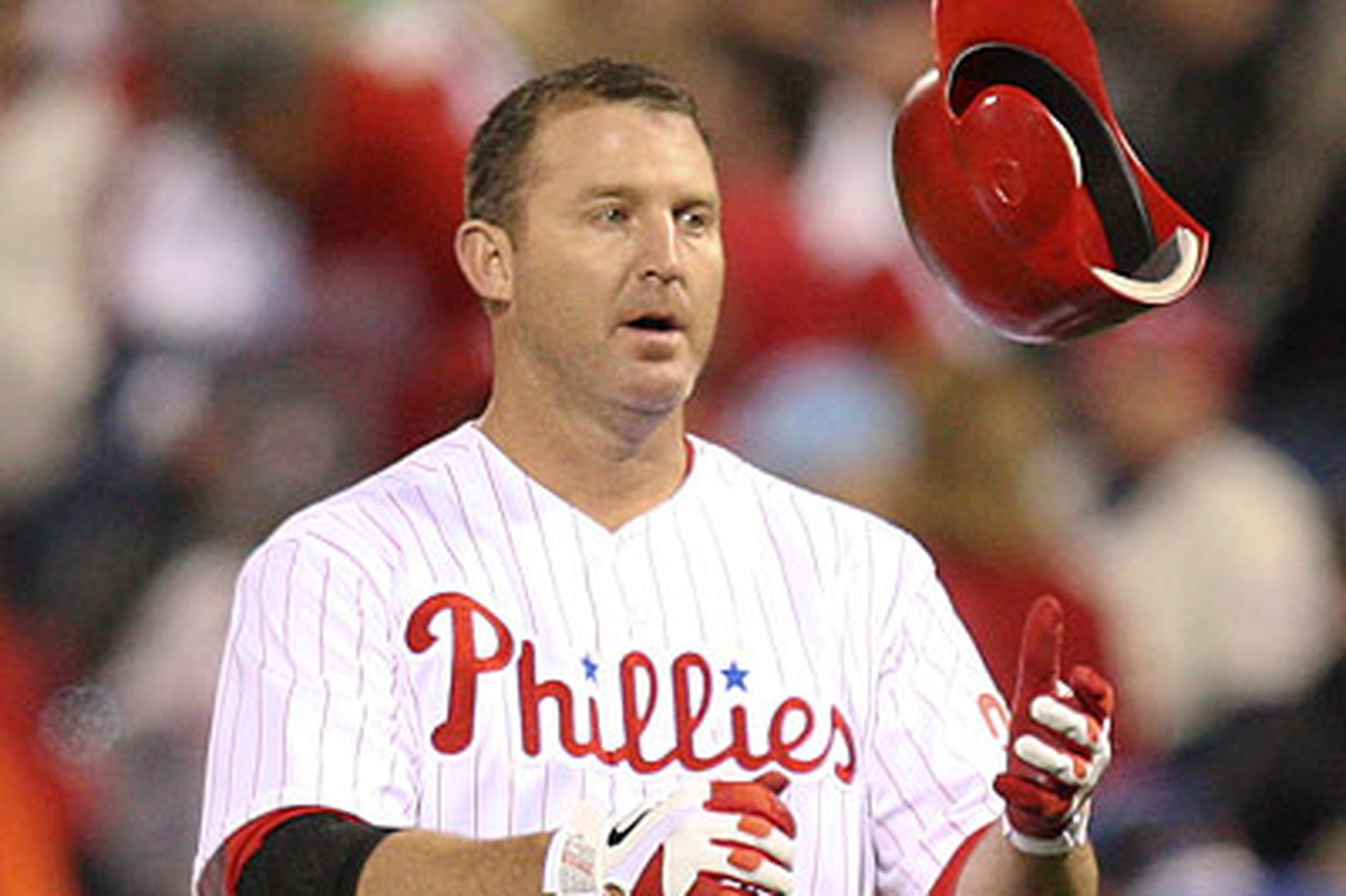 Thome placed on DL with bad back