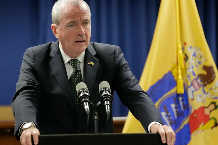 New Jersey Gov. Phil Murphy, pictured in October, is facing a political crisis after an official in his administration said she was sexually assaulted by a Murphy campaign aide who took a high-ranking post in the administration. Katie Brennan says she tried for more than a year to alert Murphy aides, and eventually the governor himself, about her alleged attacker, but that nothing happened until a newspaper reported about her ordeal.