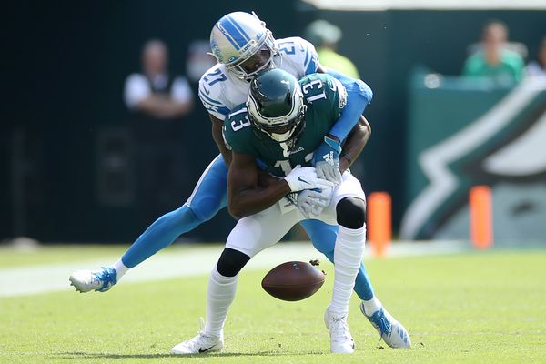 Nelson Agholor and Eagles wide receivers can't hold down fort in loss to Lions