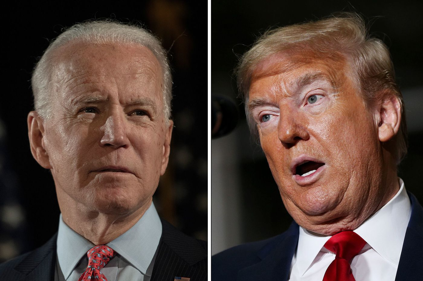 Trump and Biden will face off in competing town halls on separate networks tonight