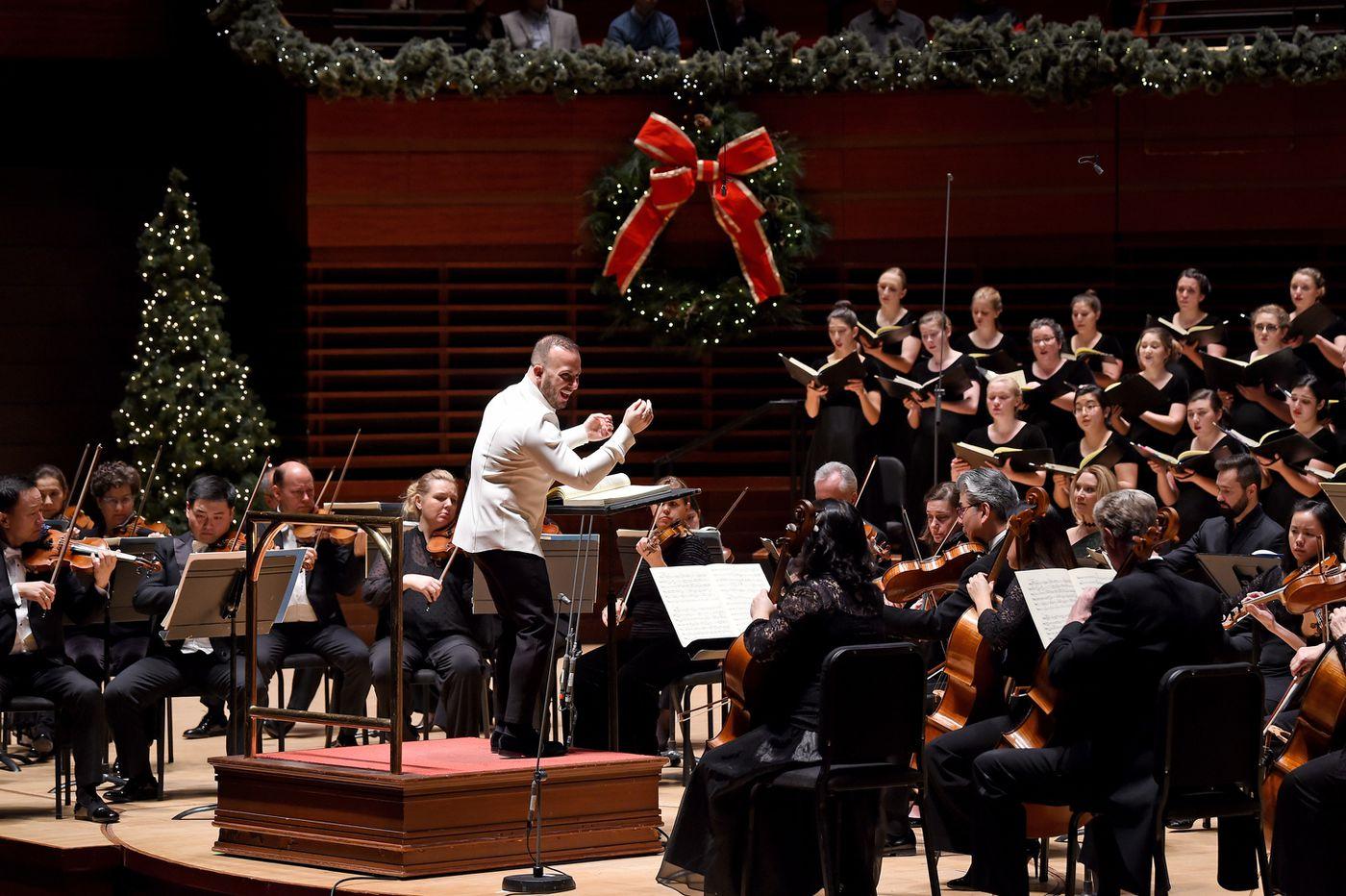 Yannick Nezet-Seguin's Philadelphia Orchestra 'Messiah' picks up where his triumphant 'La Traviata' left off