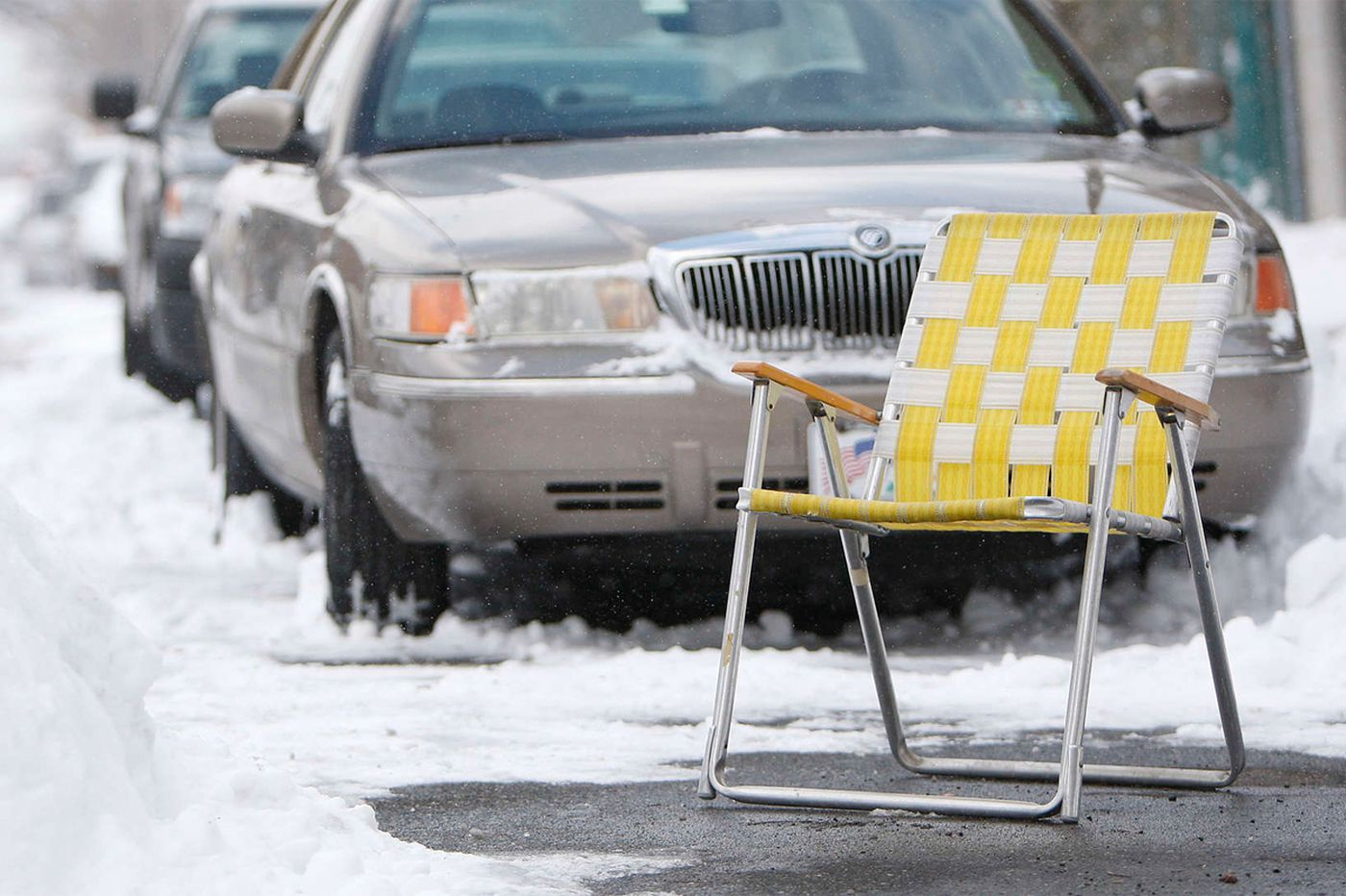 Commentary: Philly a good place to pretend it's not really winter