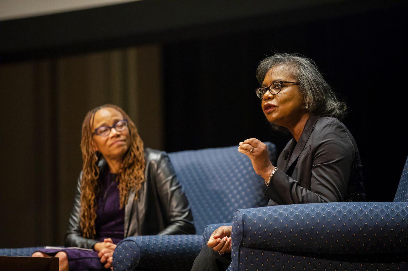 At Penn, Anita Hill calls Kavanaugh hearings 'a disservice to the American public'