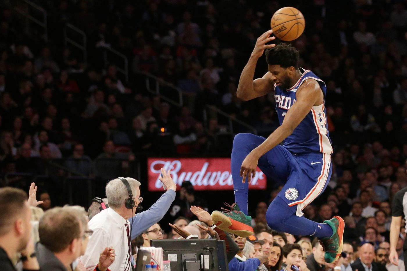 Joel Embiid says he always plays hard. The Sixers need him to start playing smart. | Mike Sielski