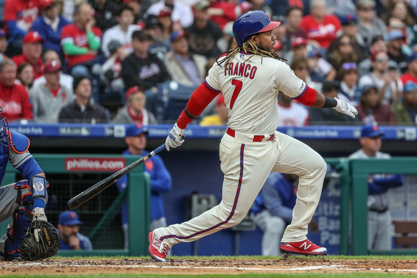 Bottom's up, and Phillies are scoring   Extra Innings